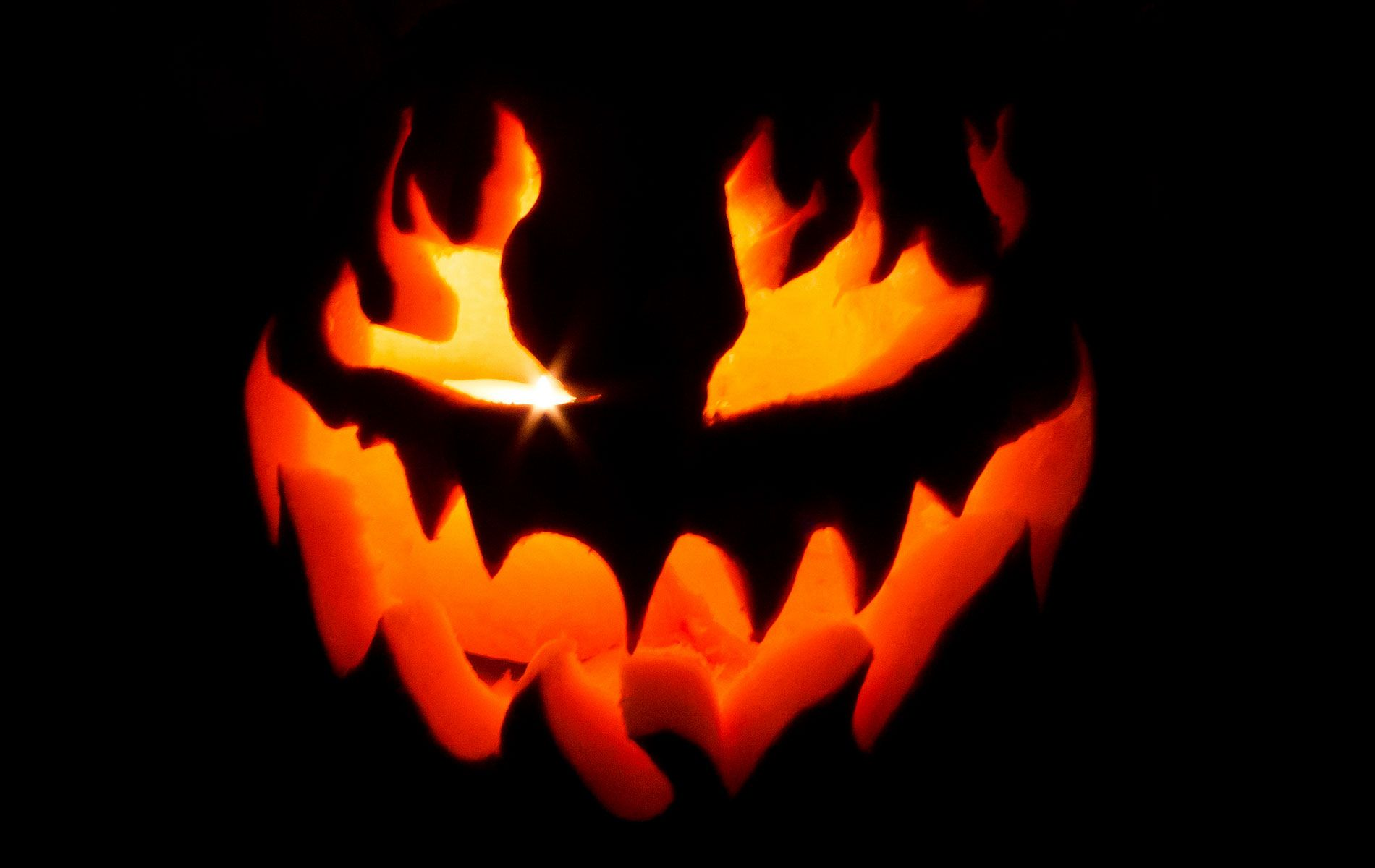 Scary Pumpkin Wallpapers Top Free Scary Pumpkin Backgrounds Wallpaperaccess
