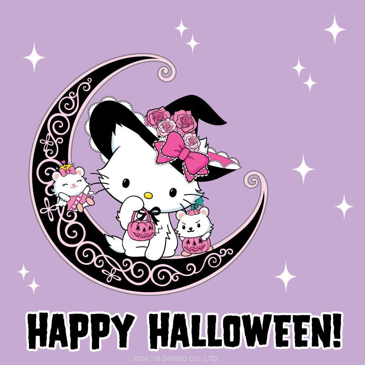 Hello Kitty Halloween Wallpapers - Top Free Hello Kitty ...