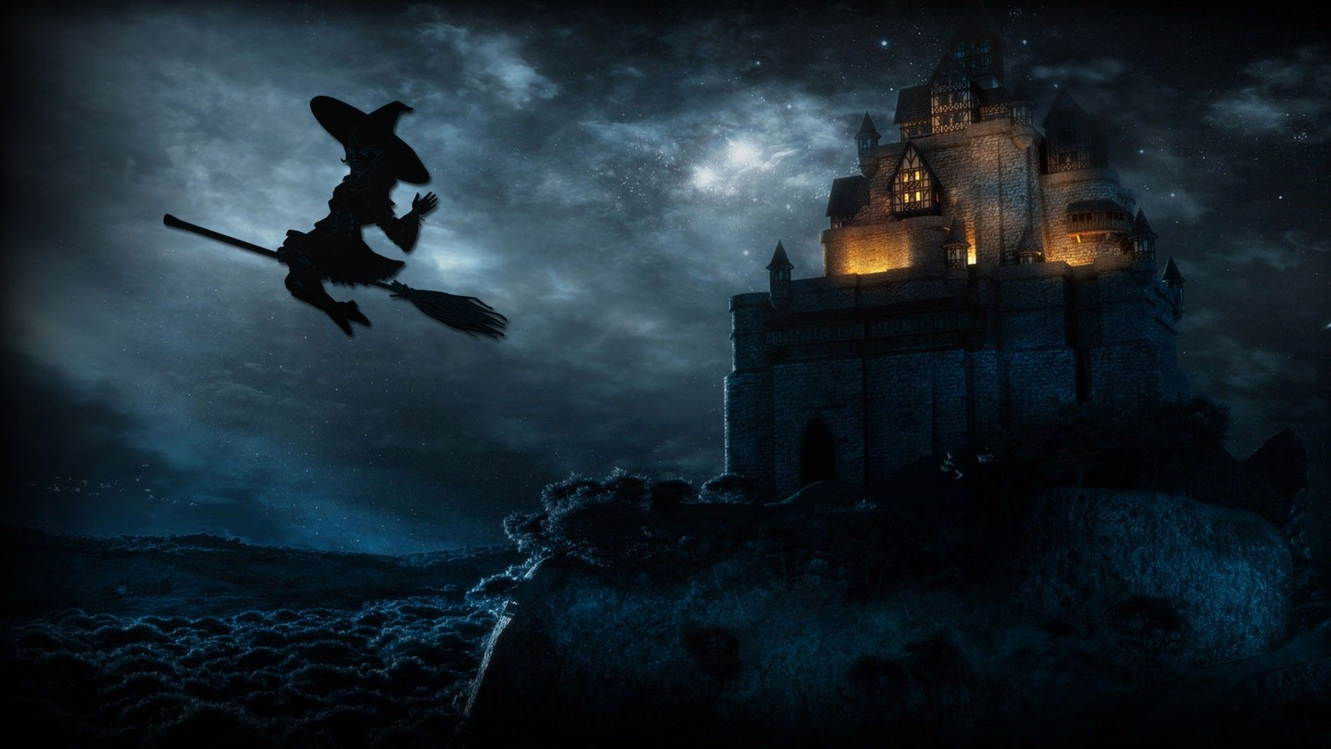 Halloween Witch Wallpapers - Top Free Halloween Witch ...