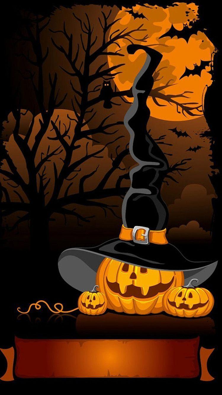 Halloween Pumpkin Iphone Wallpapers Top Free Halloween