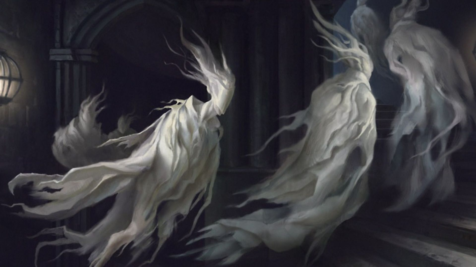 Scary Halloween Ghost Wallpapers - Top Free Scary Halloween Ghost  Backgrounds - WallpaperAccess