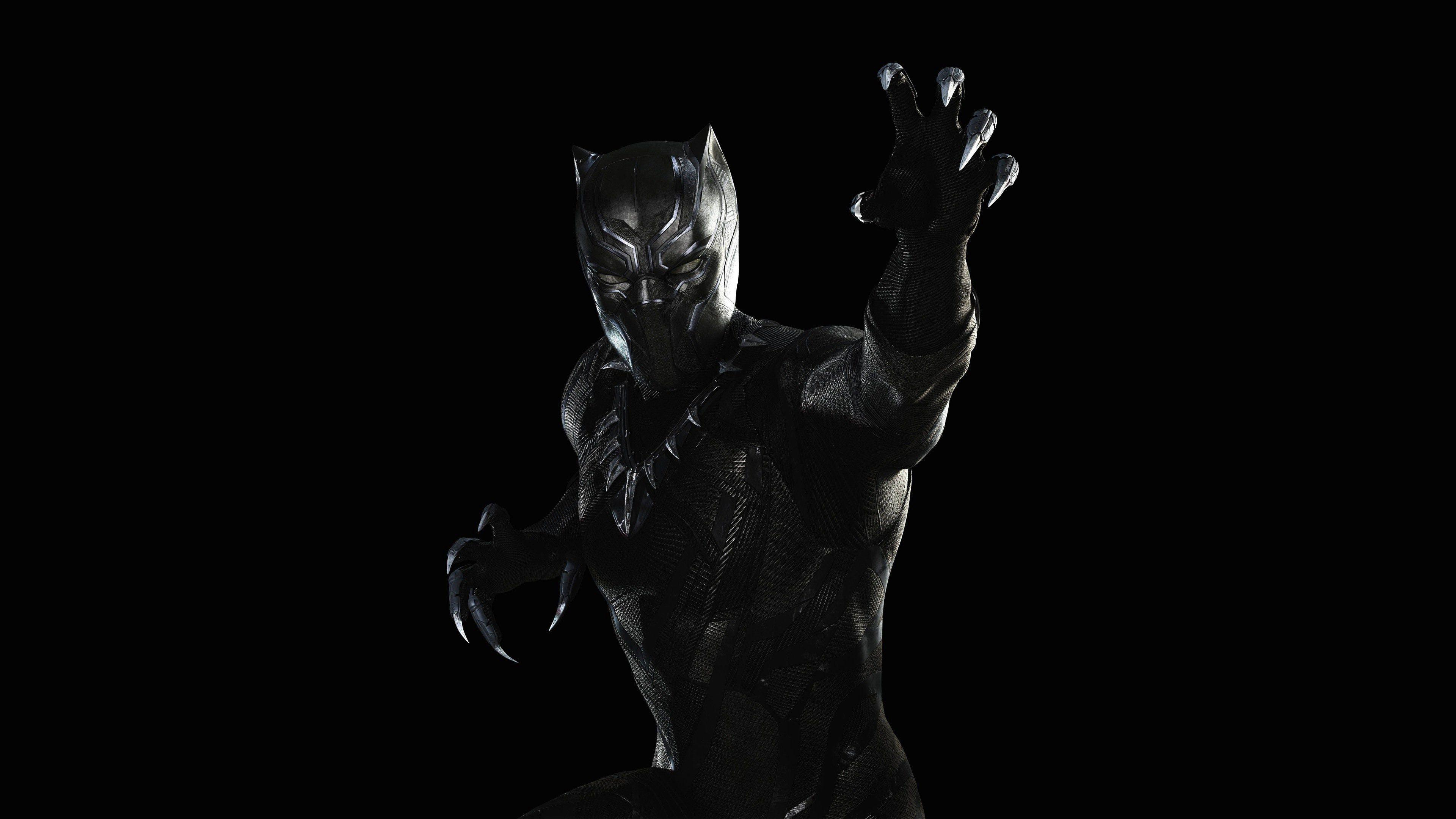White Black Panther Marvel Wallpapers Top Free White Black