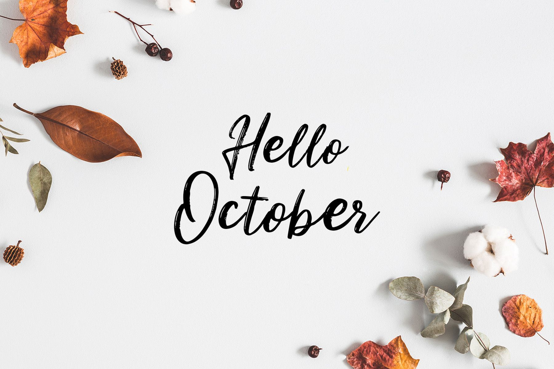 Hello October Wallpapers Top Free Hello October Backgrounds Wallpaperaccess
