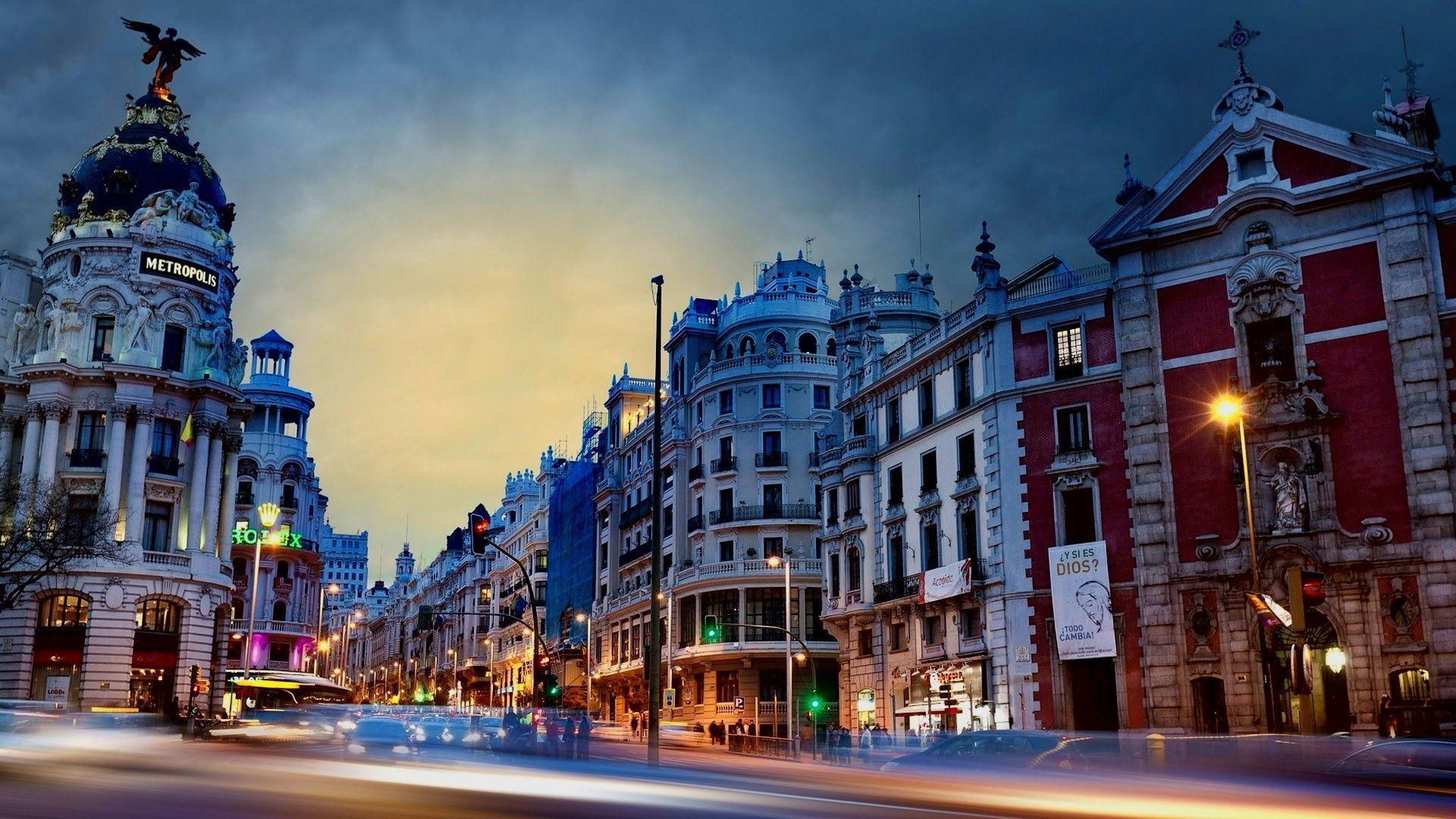 Madrid Spain Wallpapers Top Free Madrid Spain Backgrounds Wallpaperaccess