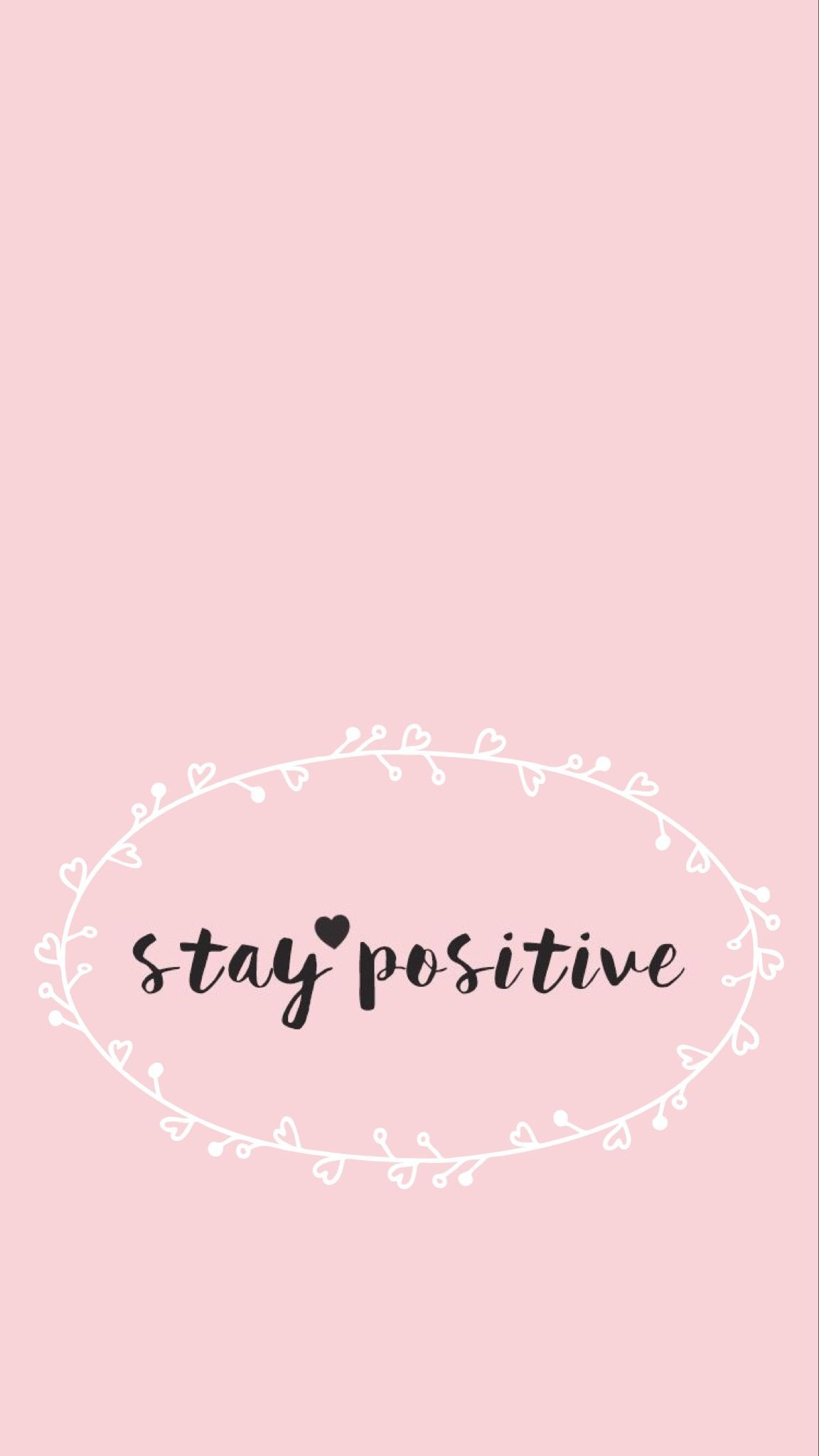 Think Positive Words Wallpapers Top Free Think Positive Words Backgrounds Wallpaperaccess