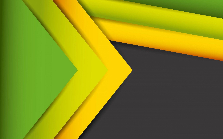 2880x1800 Hình nền Dòng trừu tượng, Cổ phần, Màu vàng, Màu xanh lá, độ phân giải cao, Trừu tượng