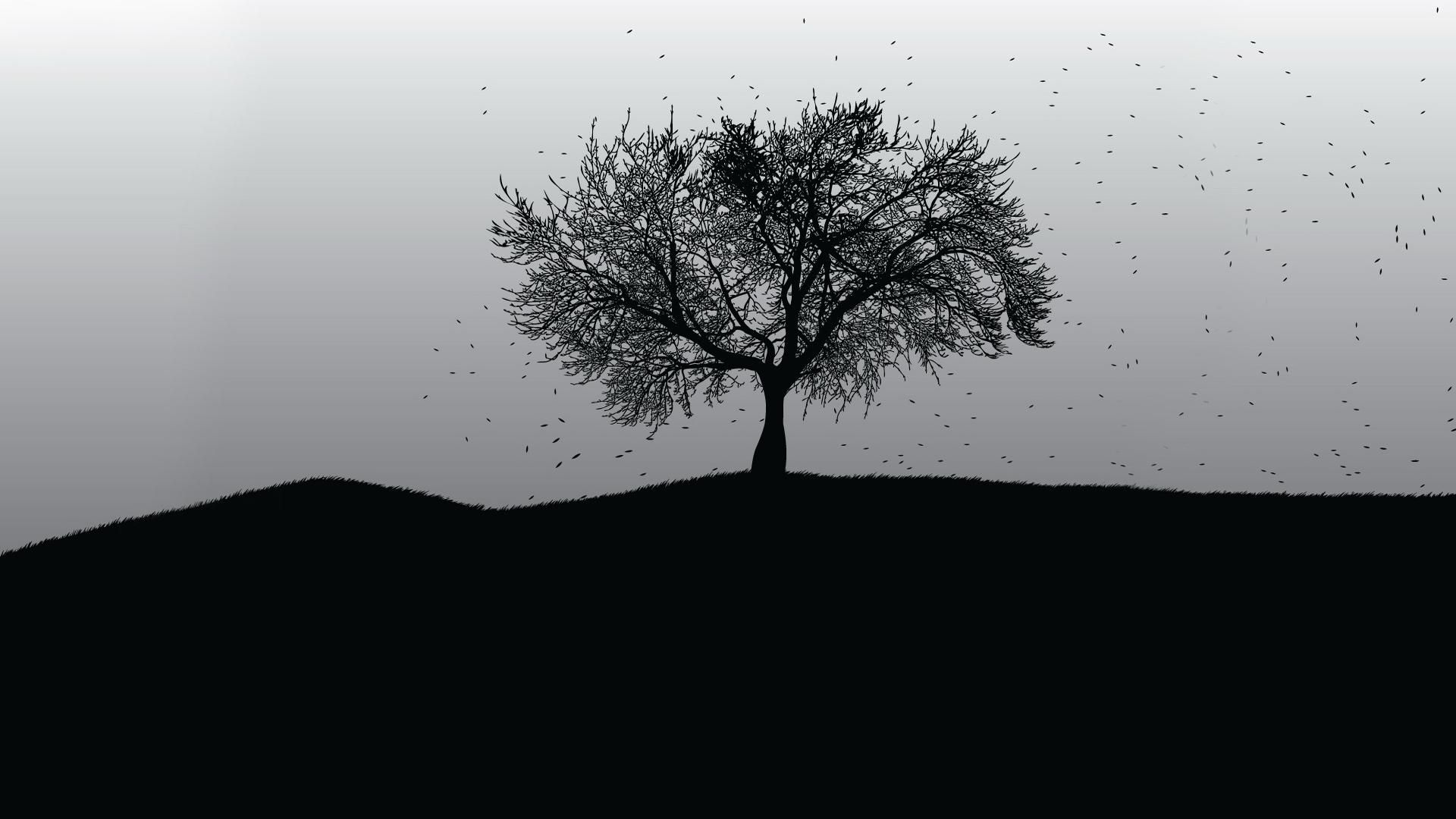 Black Tree Wallpapers Top Free Black Tree Backgrounds Wallpaperaccess