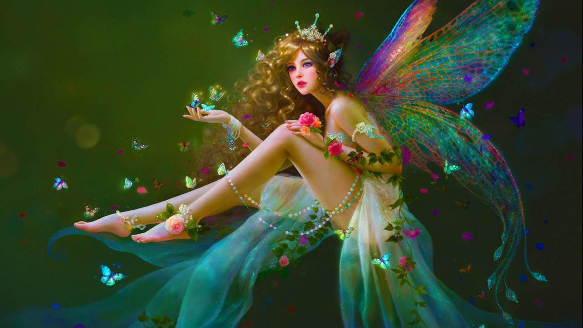 1920X1080 HD Fairy Wallpapers - Top ...