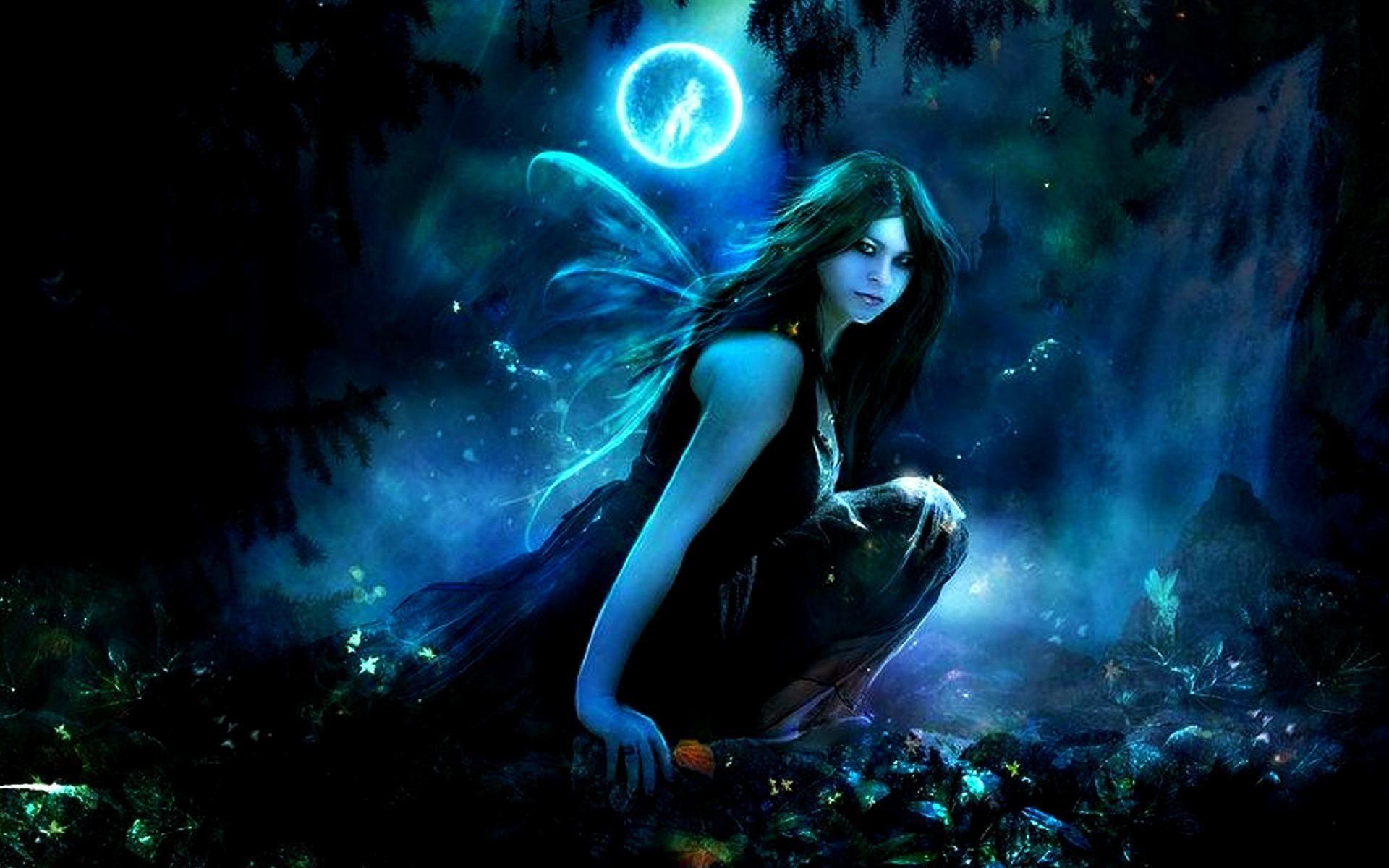 Dark Fairy Wallpapers Top Free Dark Fairy Backgrounds