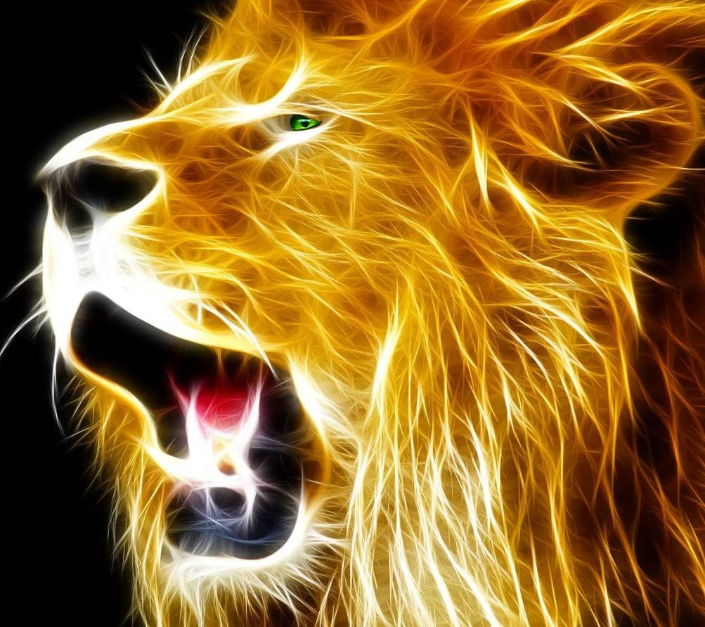 Cool Neon Lion Wallpapers Top Free Cool Neon Lion
