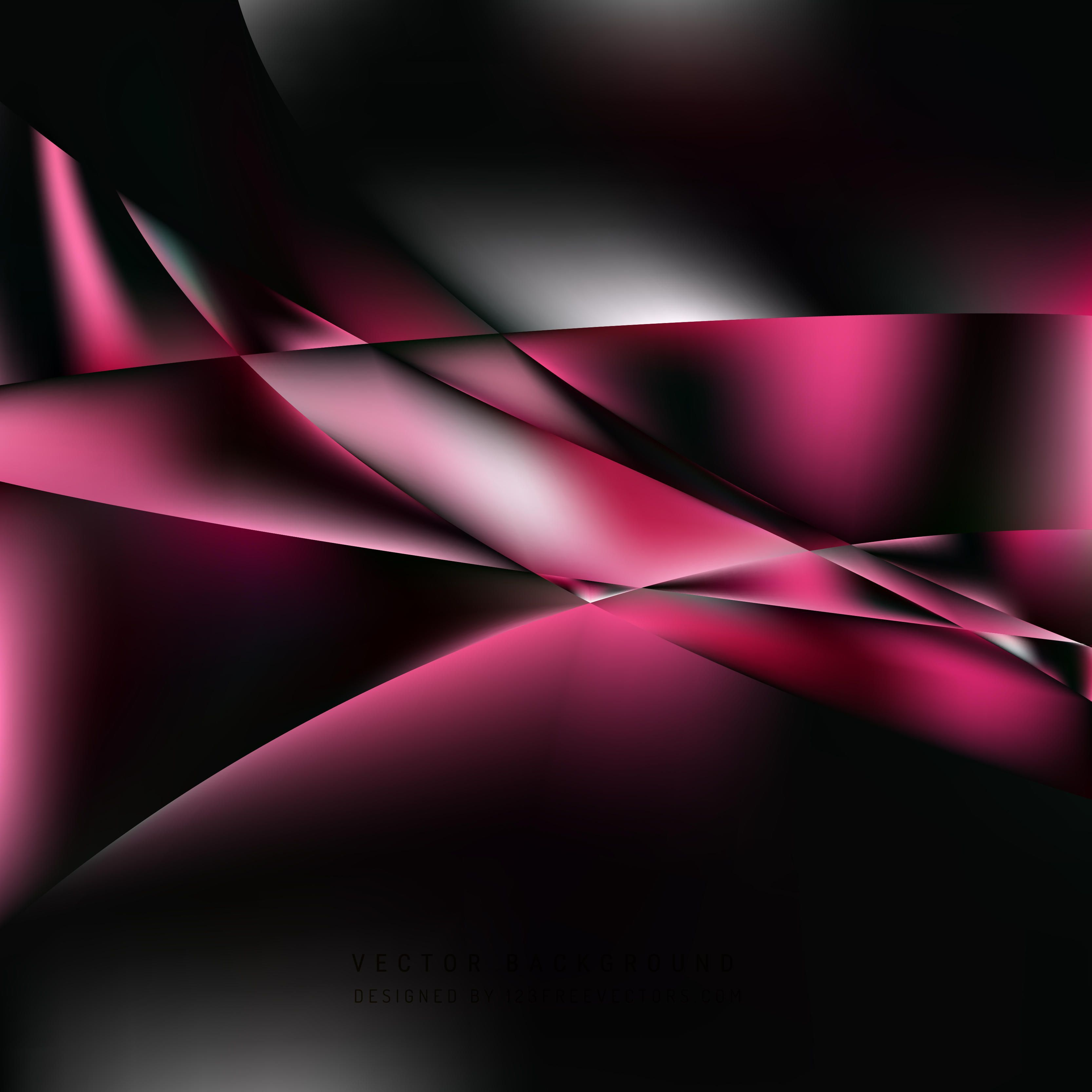 Pink And Black Abstract Wallpapers