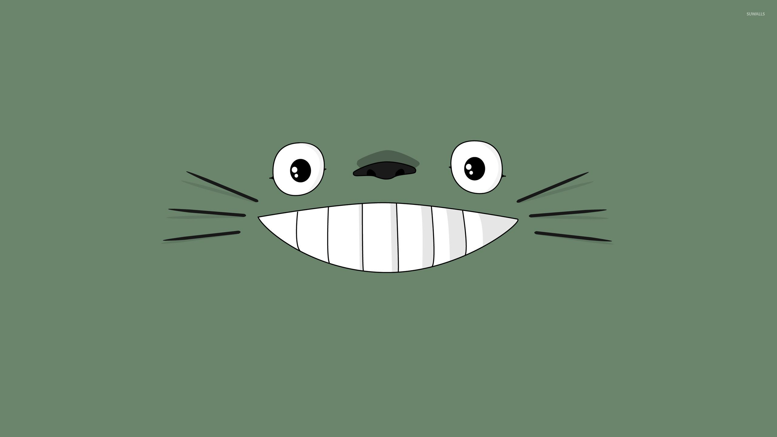 Totoro Wallpapers Top Free Totoro Backgrounds Wallpaperaccess