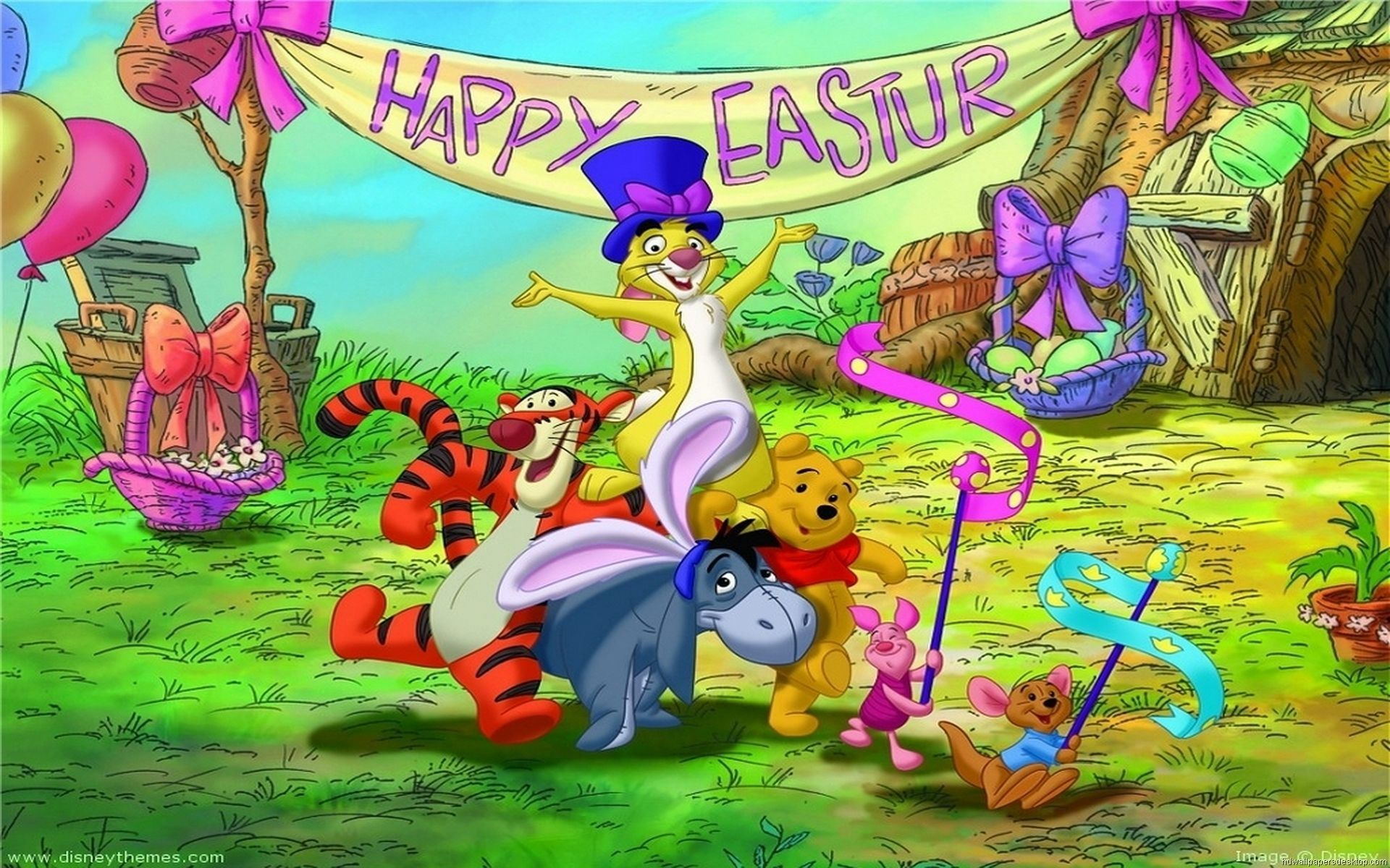 Disney Easter Desktop Wallpapers Top Free Disney Easter Desktop