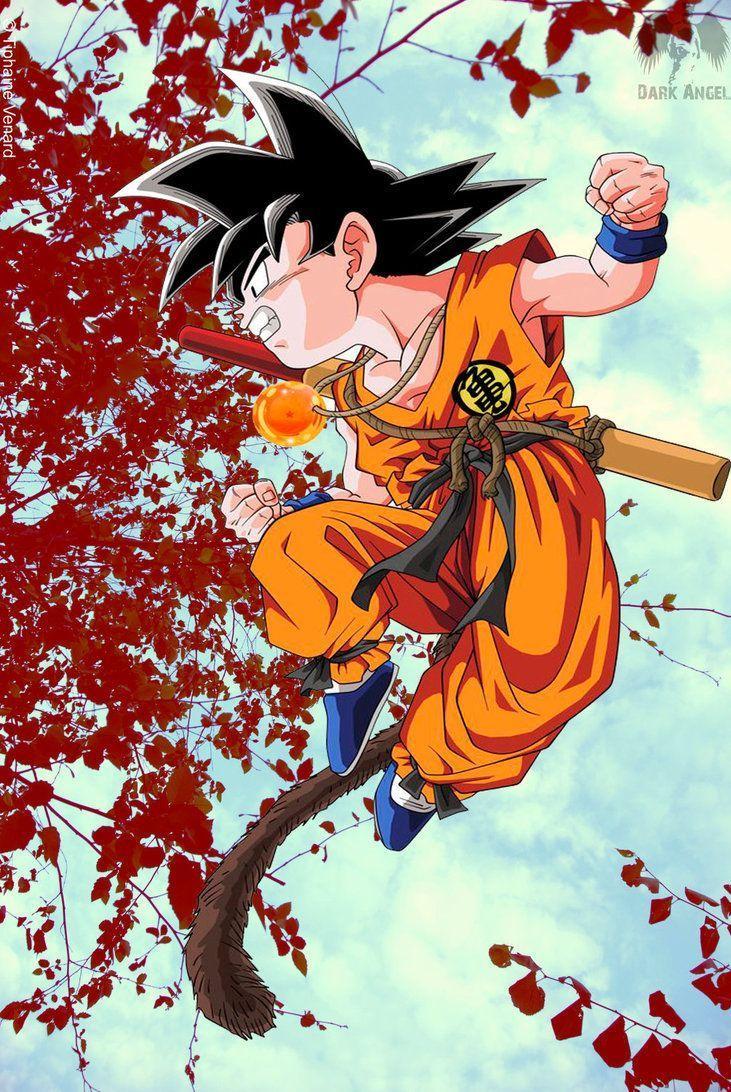 Young Goku Wallpapers Top Free Young Goku Backgrounds