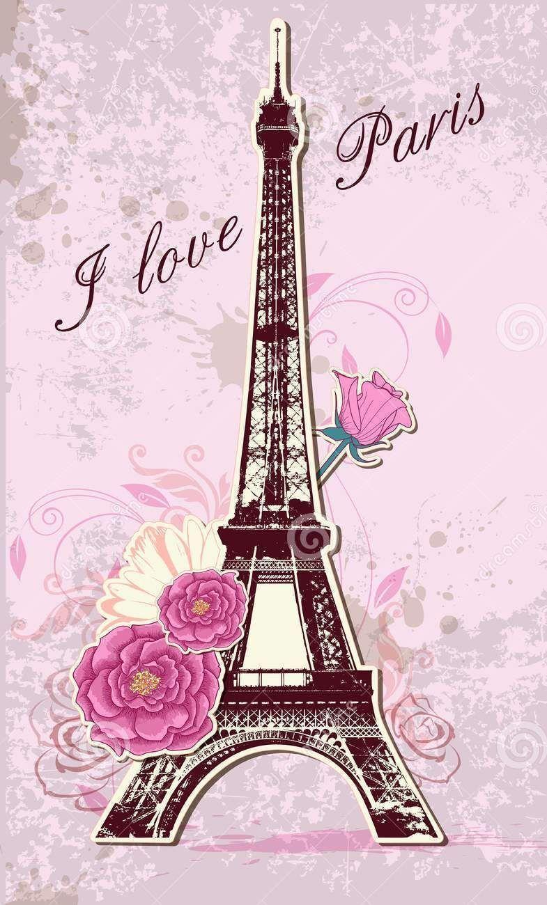 Pink Paris Wallpapers Top Free Pink Paris Backgrounds Wallpaperaccess