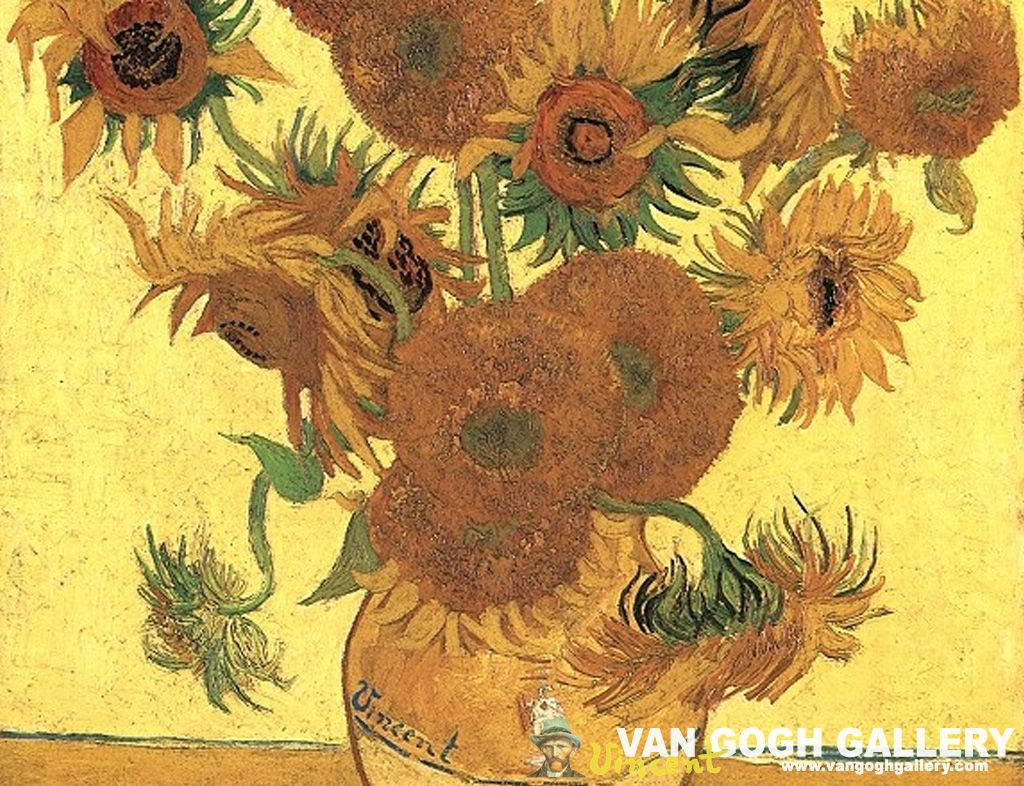 36 best free van gogh sunflowers wallpapers - wallpaperaccess