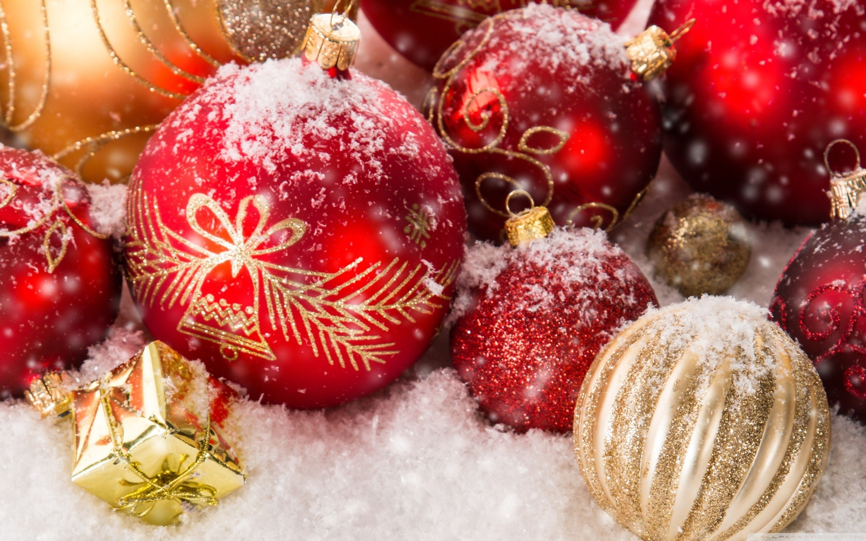 High Resolution Christmas Wallpapers Top Free High