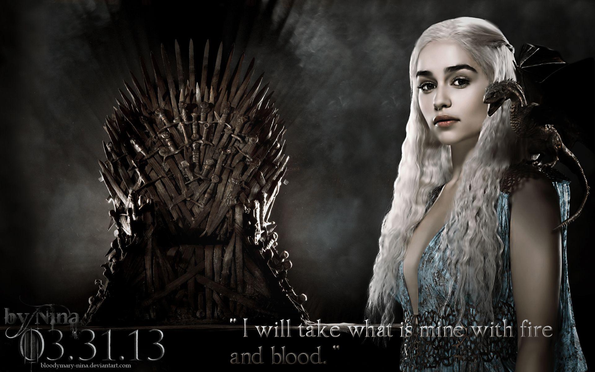 Game Of Thrones Khaleesi Wallpapers Top Free Game Of