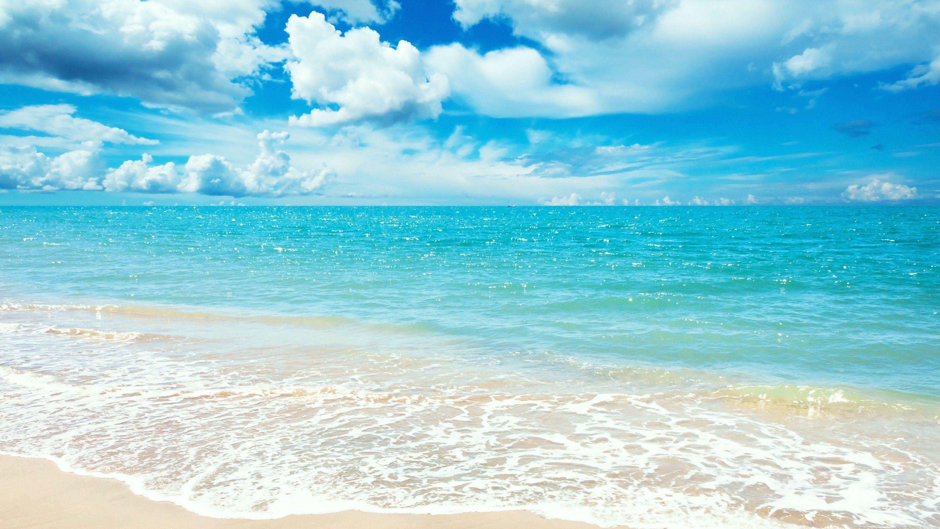 Blue Sky Beach Wallpapers Top Free Blue Sky Beach Backgrounds Wallpaperaccess