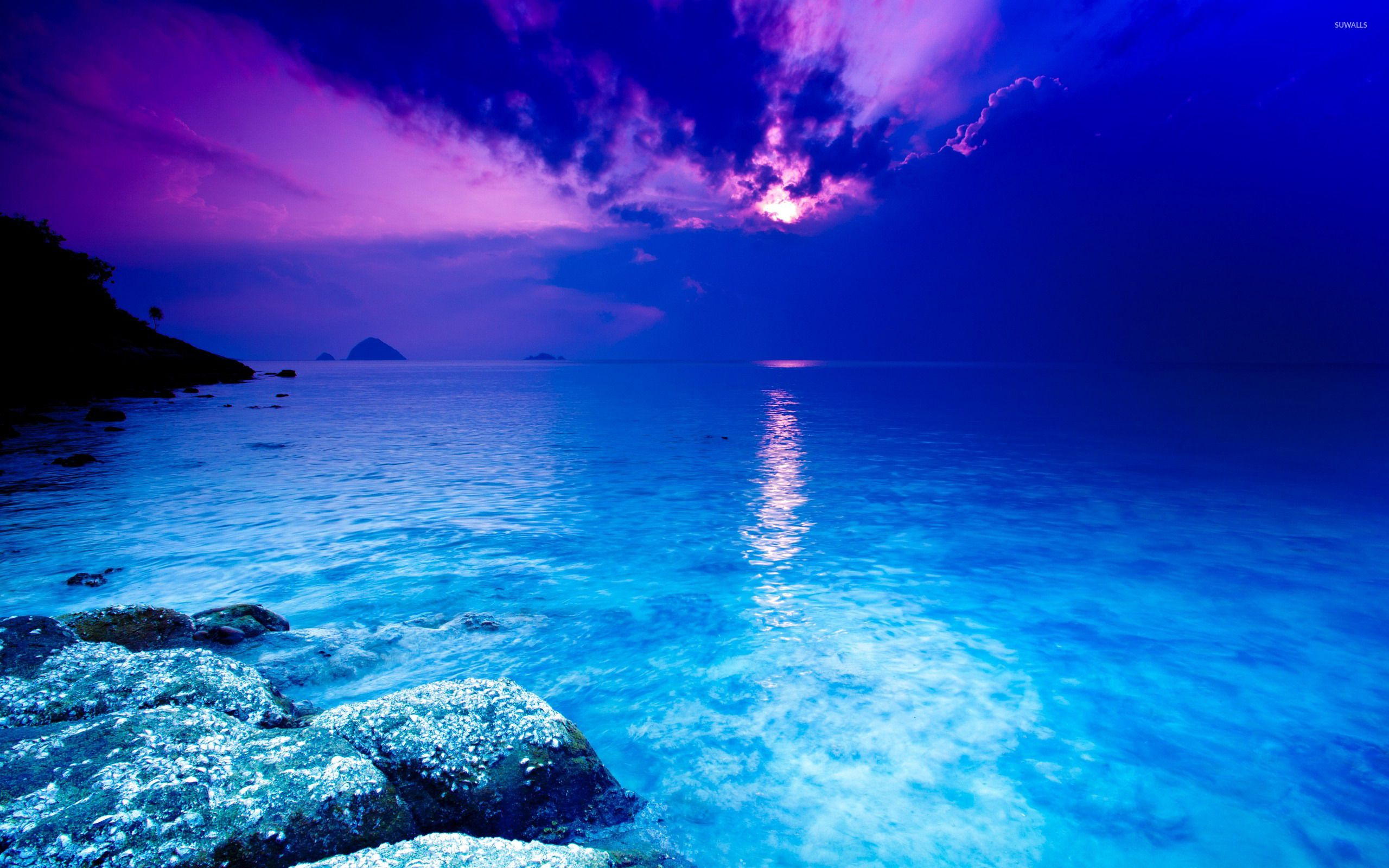 Blue Sea Wallpapers Top Free Blue Sea Backgrounds