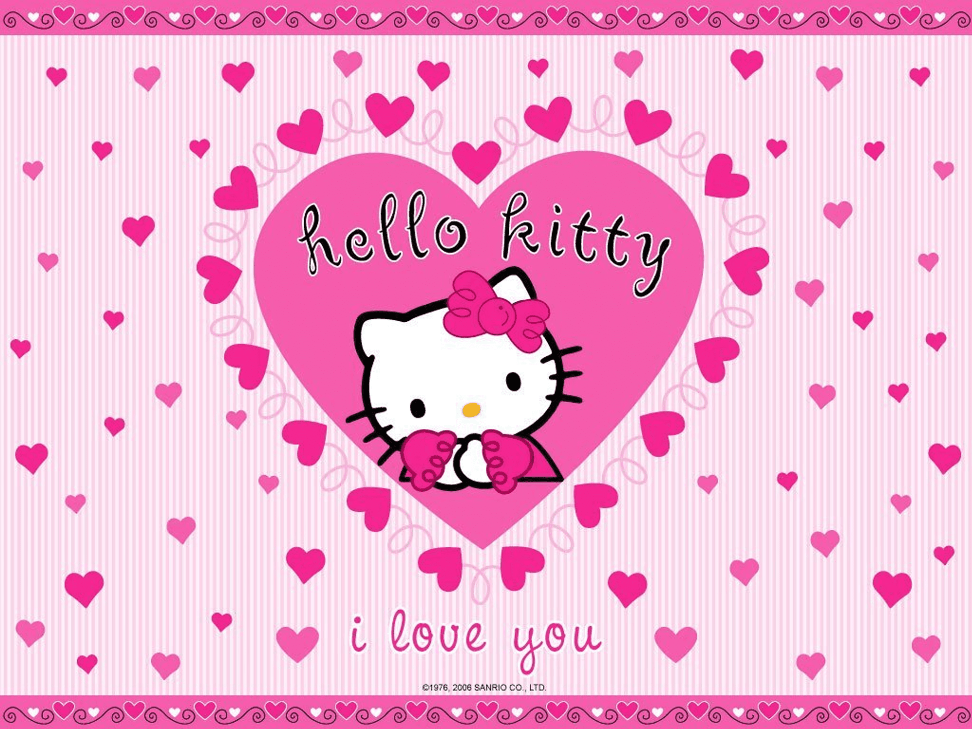 Hello Kitty Laptop Wallpapers Top Free Hello Kitty Laptop Backgrounds Wallpaperaccess