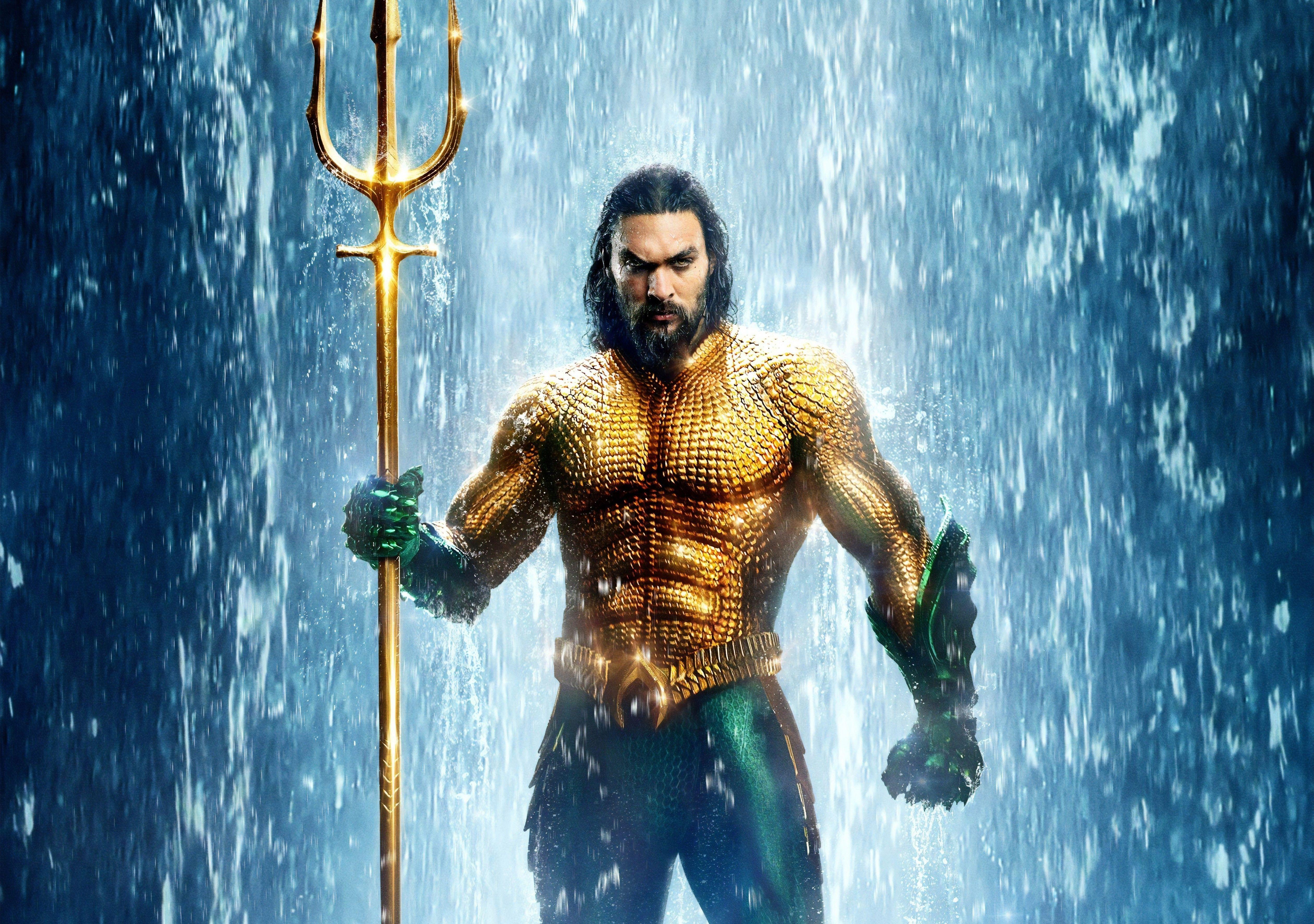 Jason Momoa Aquaman Wallpapers Top Free Jason Momoa Aquaman Backgrounds Wallpaperaccess