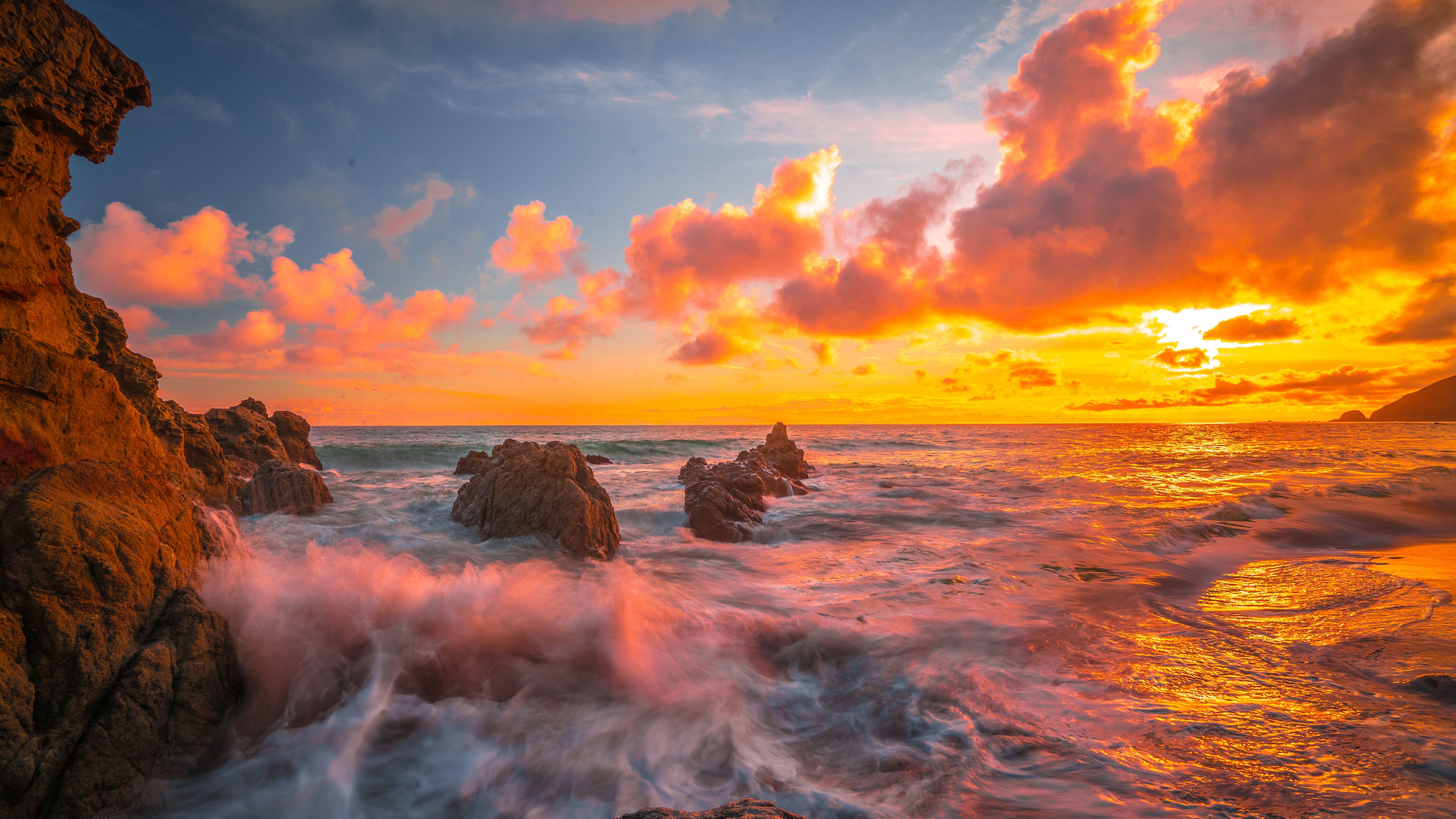 8k Sunset Wallpapers Top Free 8k Sunset Backgrounds Wallpaperaccess