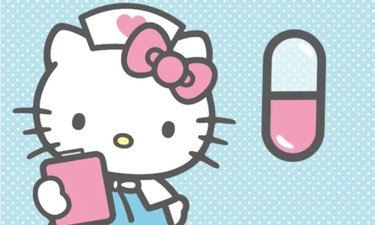 Hello Kitty Nurse Wallpapers Top Free Hello Kitty Nurse Backgrounds Wallpaperaccess