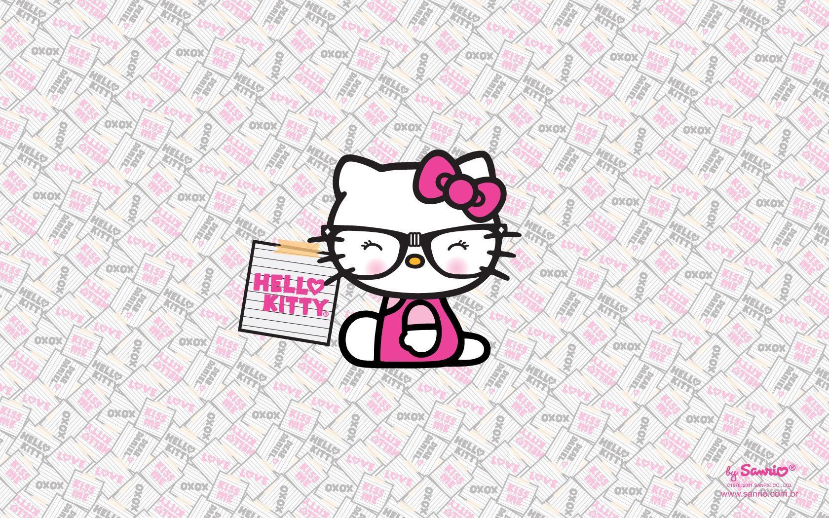 Hello Kitty Nerd Wallpapers Top Free Hello Kitty Nerd