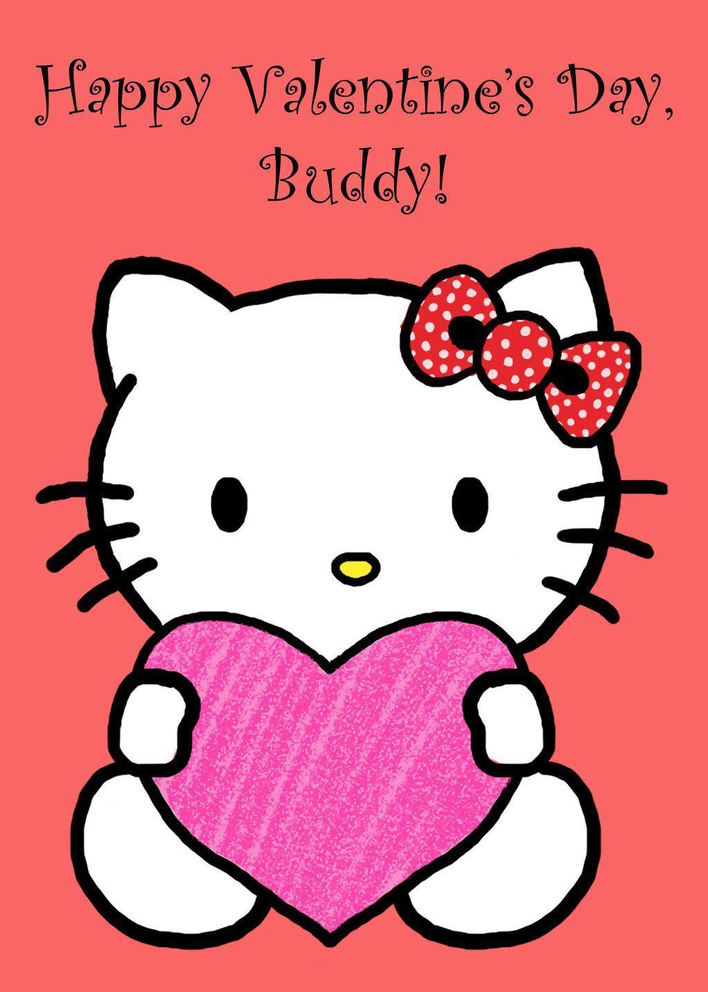 1024x1434 Free download Hello Kitty Valentine