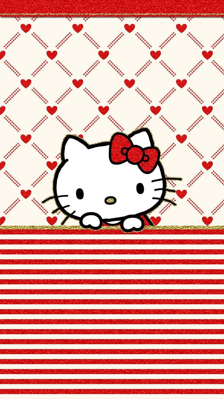 900x1600 iPhone Wall: Valentine's Day tjn. Hello kitty. Hello kitty