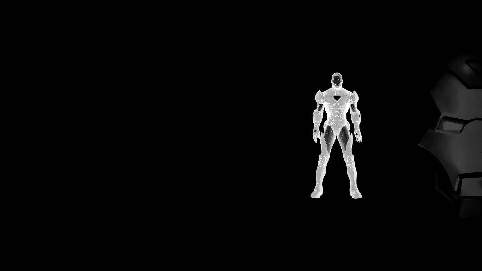Iron Man Black Desktop Wallpapers Top Free Iron Man Black