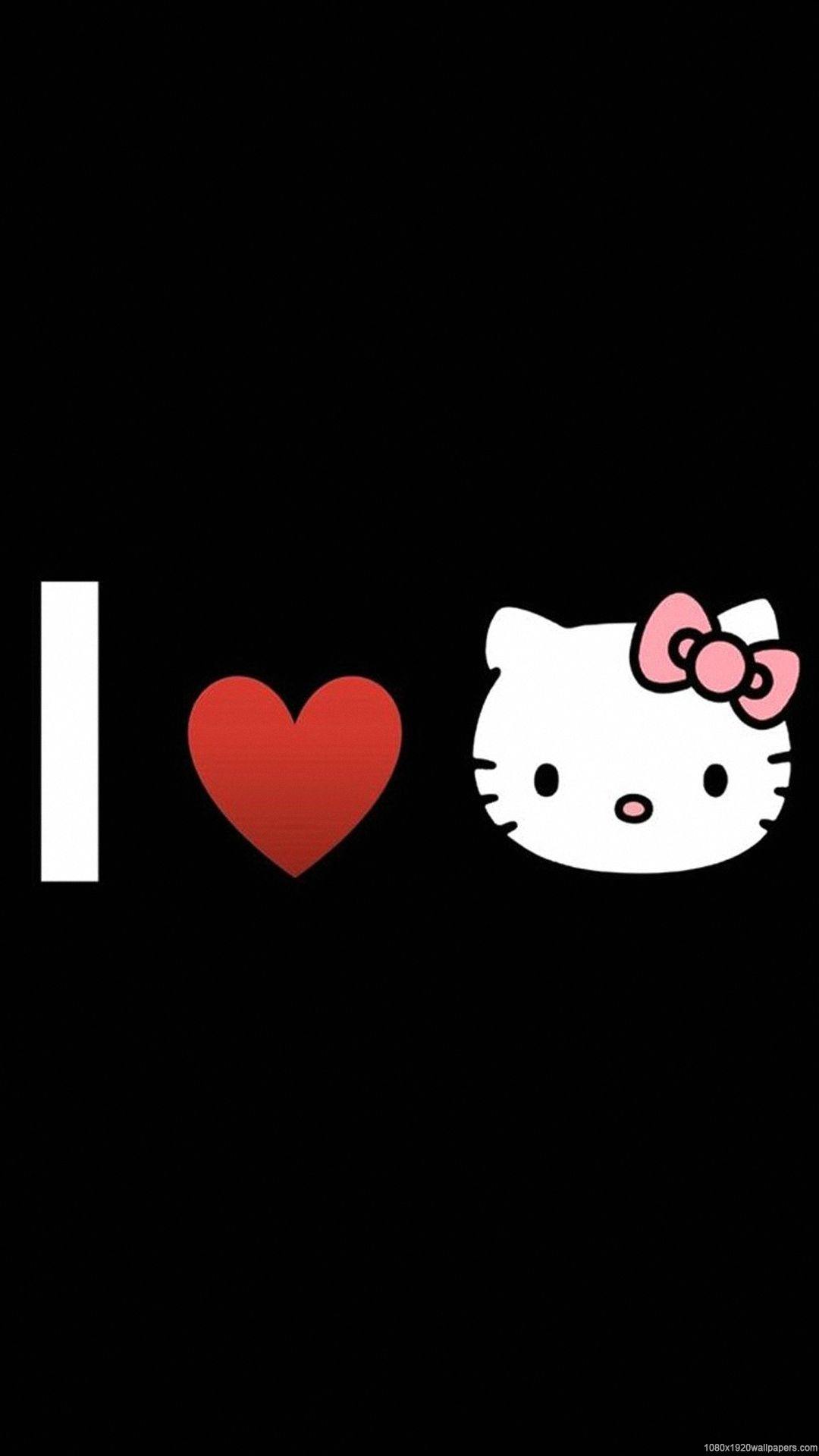 Black Hello Kitty Iphone Wallpapers Top Free Black Hello