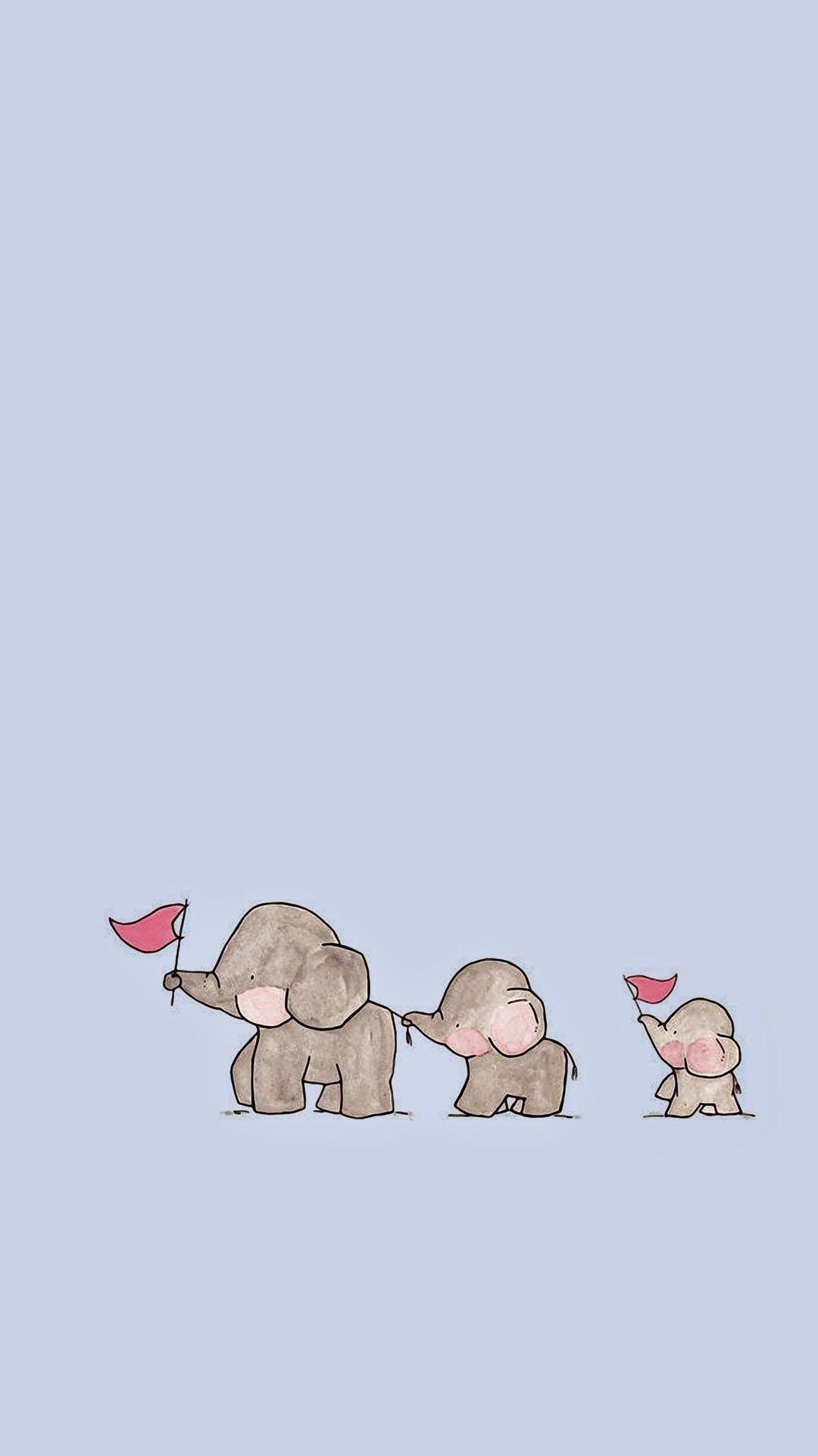 wallpaper elephant aesthetic vilma lii