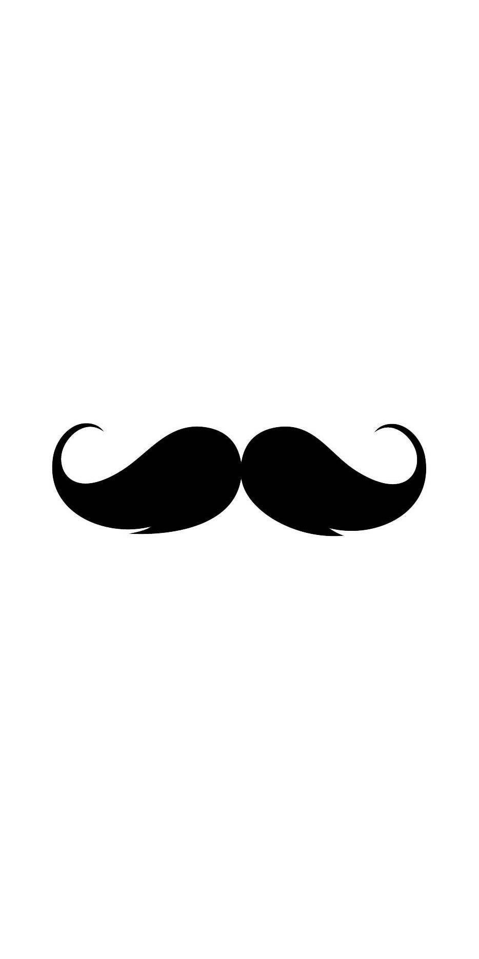 Cute Mustache iPhone Wallpapers - Top
