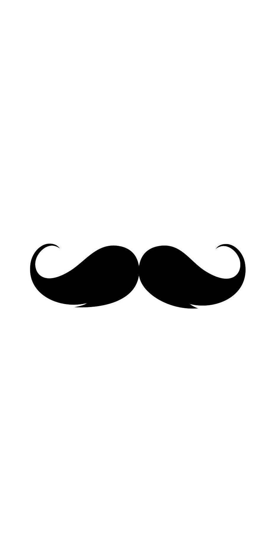 Cute Mustache iPhone Wallpapers - Top