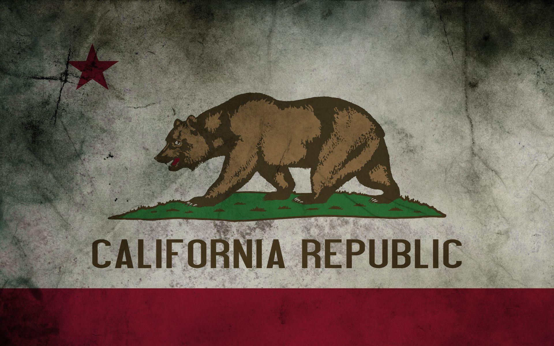 California Flag Wallpapers Top Free California Flag Backgrounds Wallpaperaccess
