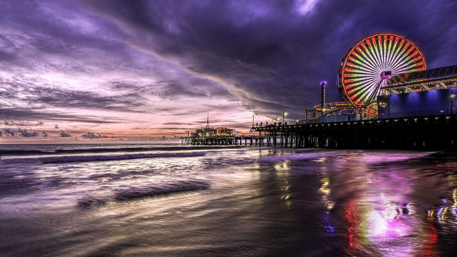 Santa Monica Wallpapers Top Free Santa Monica Backgrounds