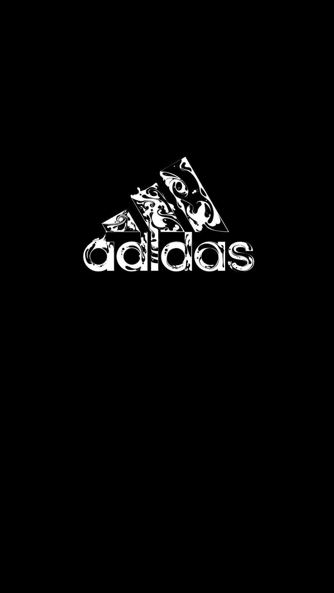 Black Adidas Logo Wallpapers Top Free Black Adidas Logo Backgrounds Wallpaperaccess