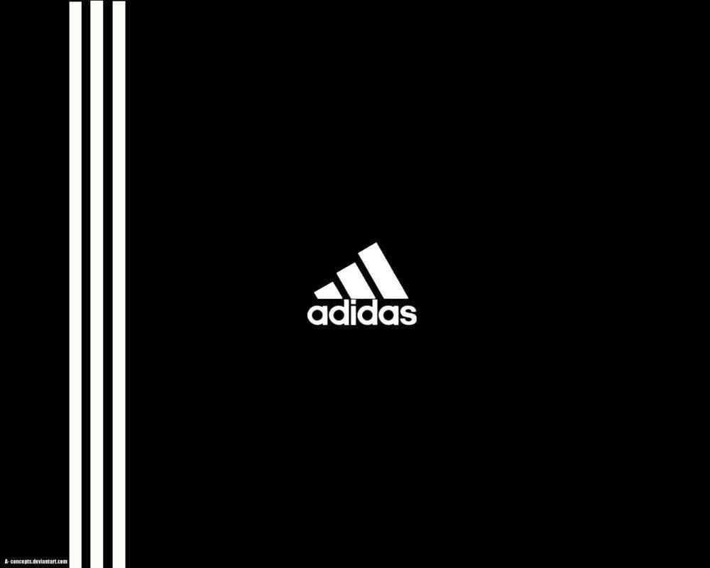 Recepción temperatura Ambicioso  Black Adidas Logo Wallpapers - Top Free Black Adidas Logo ...