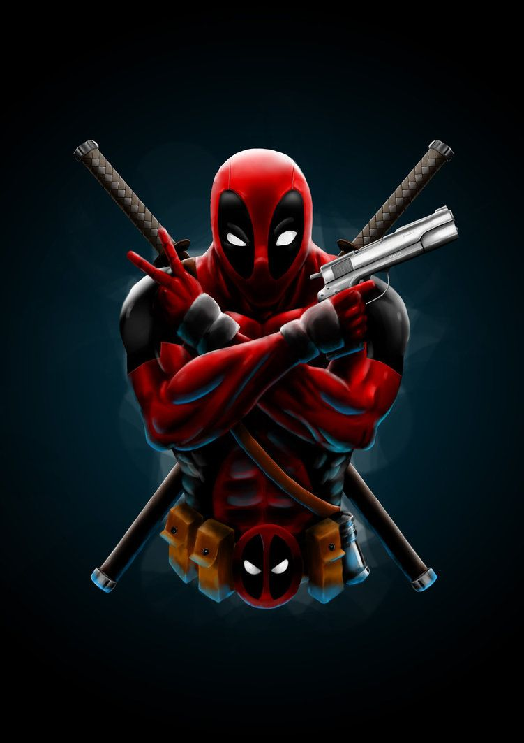 Cartoon Deadpool Iphone Wallpapers Top Free Cartoon Deadpool