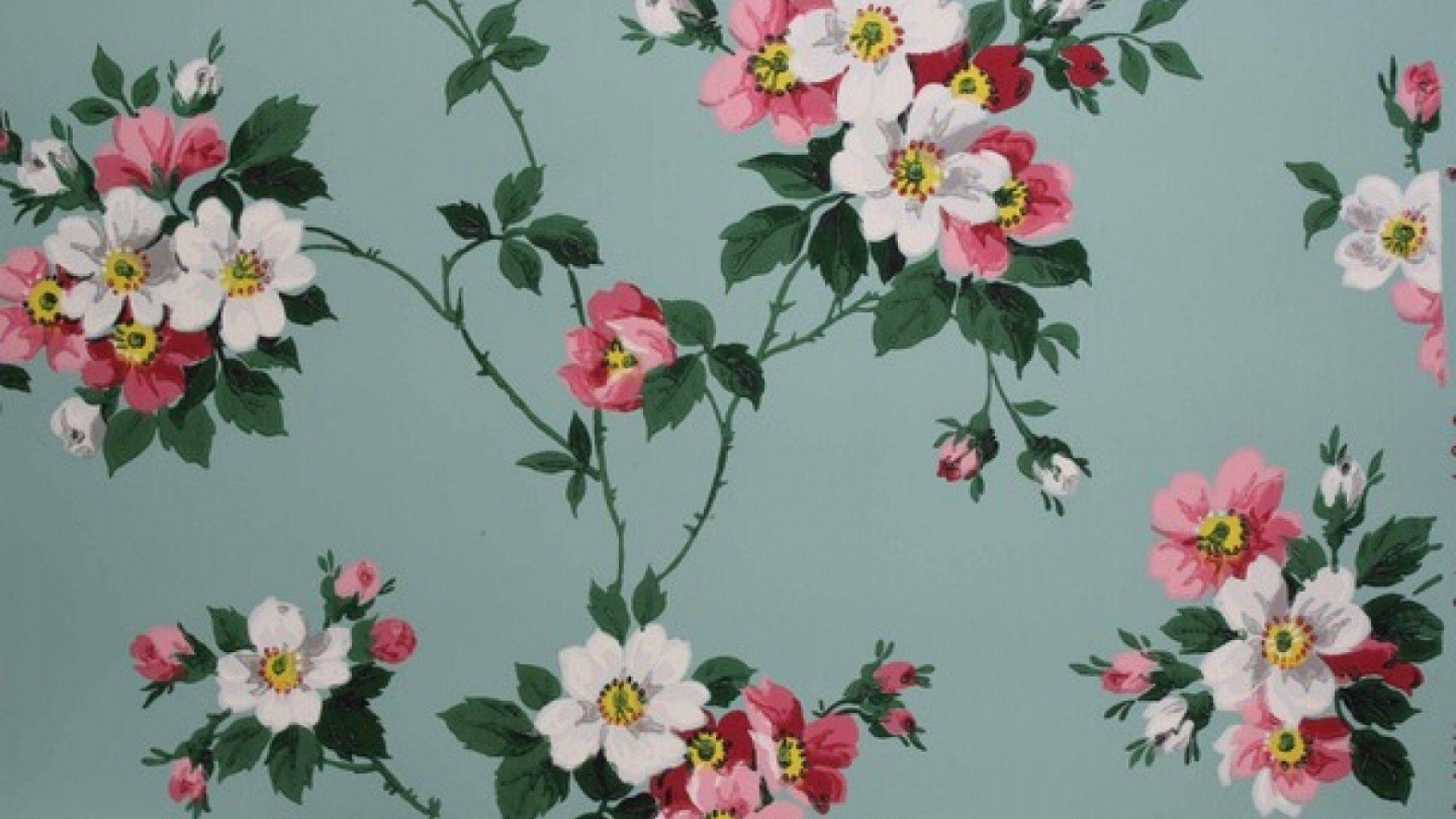 Vintage Floral Computer Wallpapers Top Free Vintage Floral