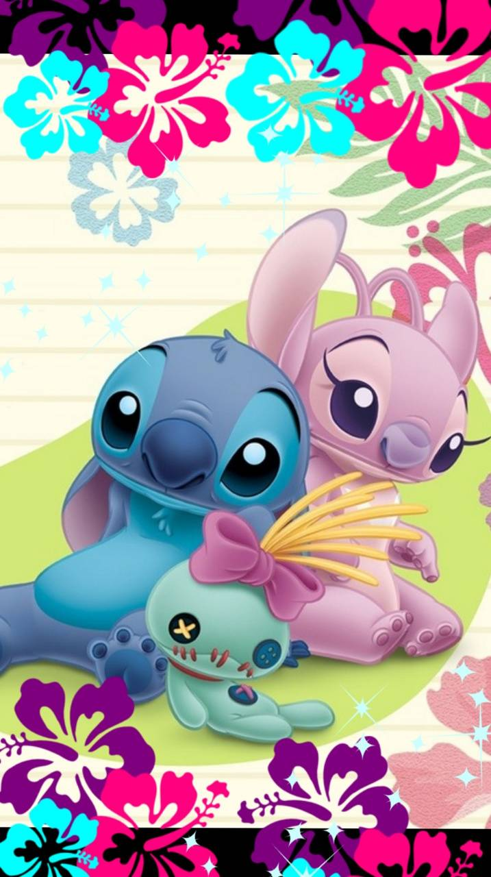 Stitch And Angel Wallpapers - Top Free Stitch And Angel