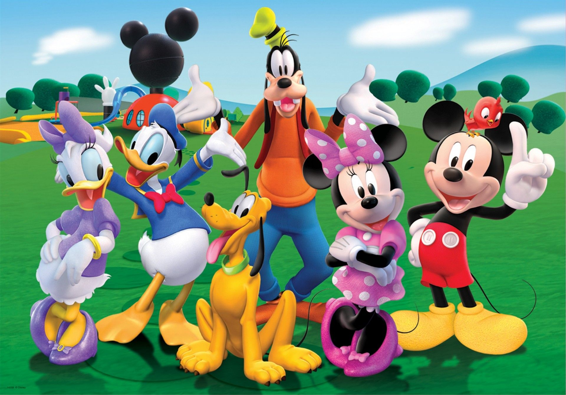 Mickey Mouse Clubhouse Wallpapers Top Free Mickey Mouse Clubhouse Backgrounds Wallpaperaccess