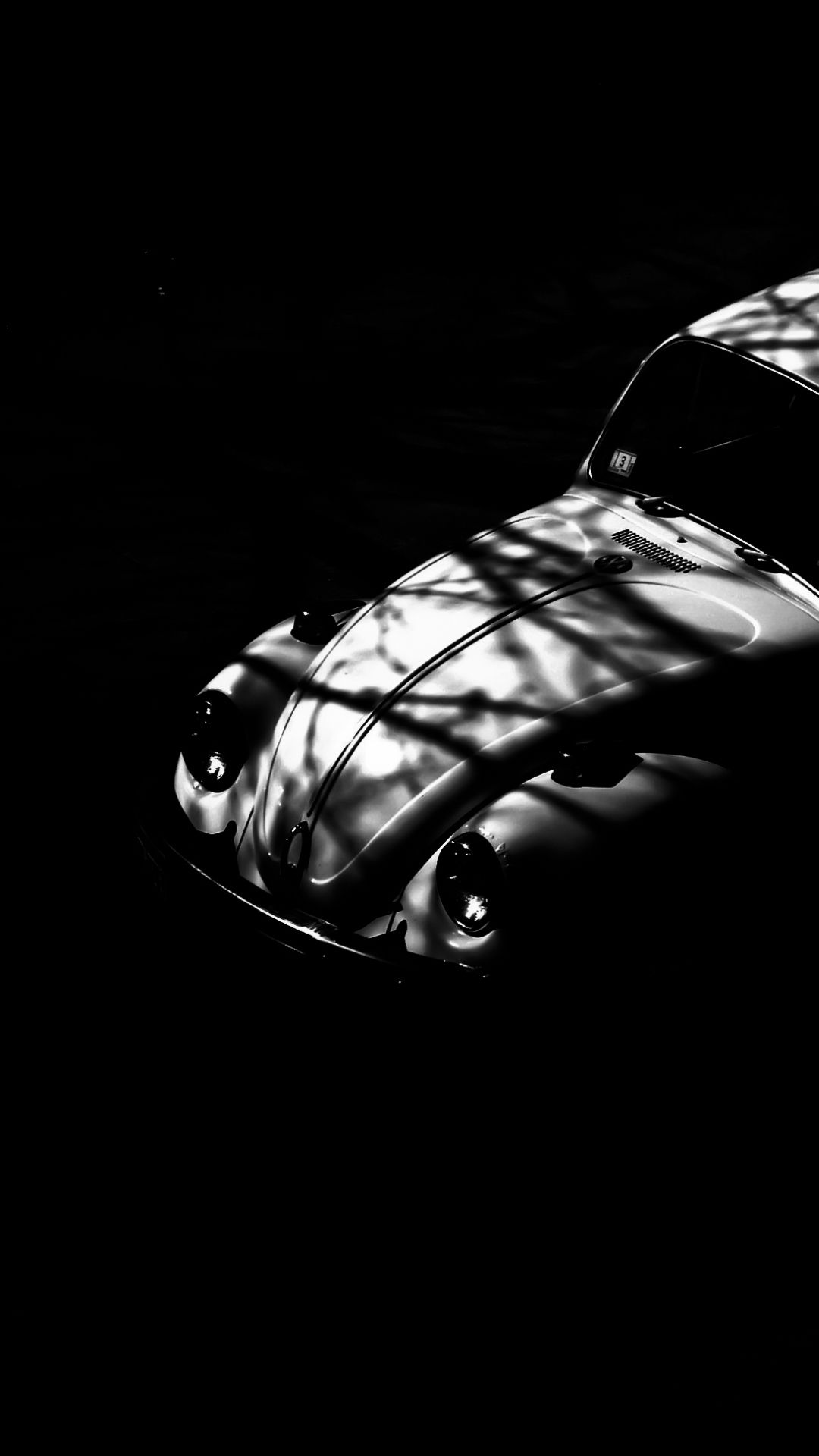 Iphone Black And White Car Wallpaper