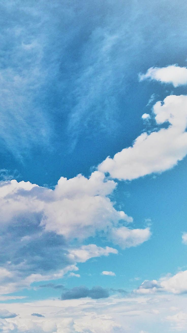 Blue Sky Aesthetic Wallpapers Top Free Blue Sky Aesthetic