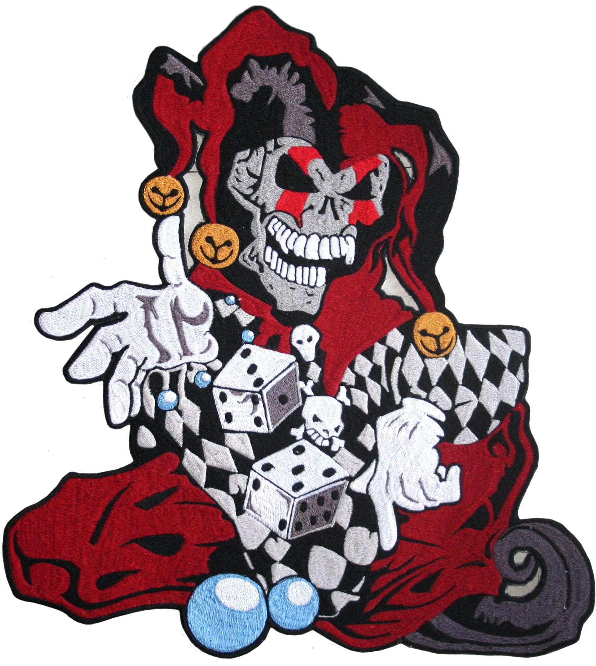 Joker Skull Wallpaper