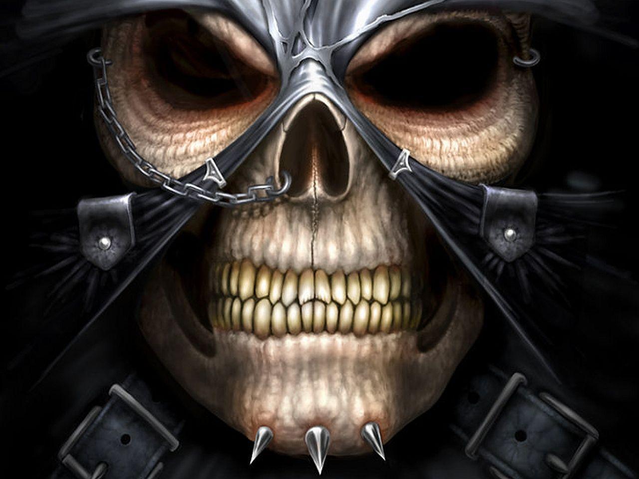 Biker Skull and Cross Wallpapers - Top Free Biker Skull and Cross