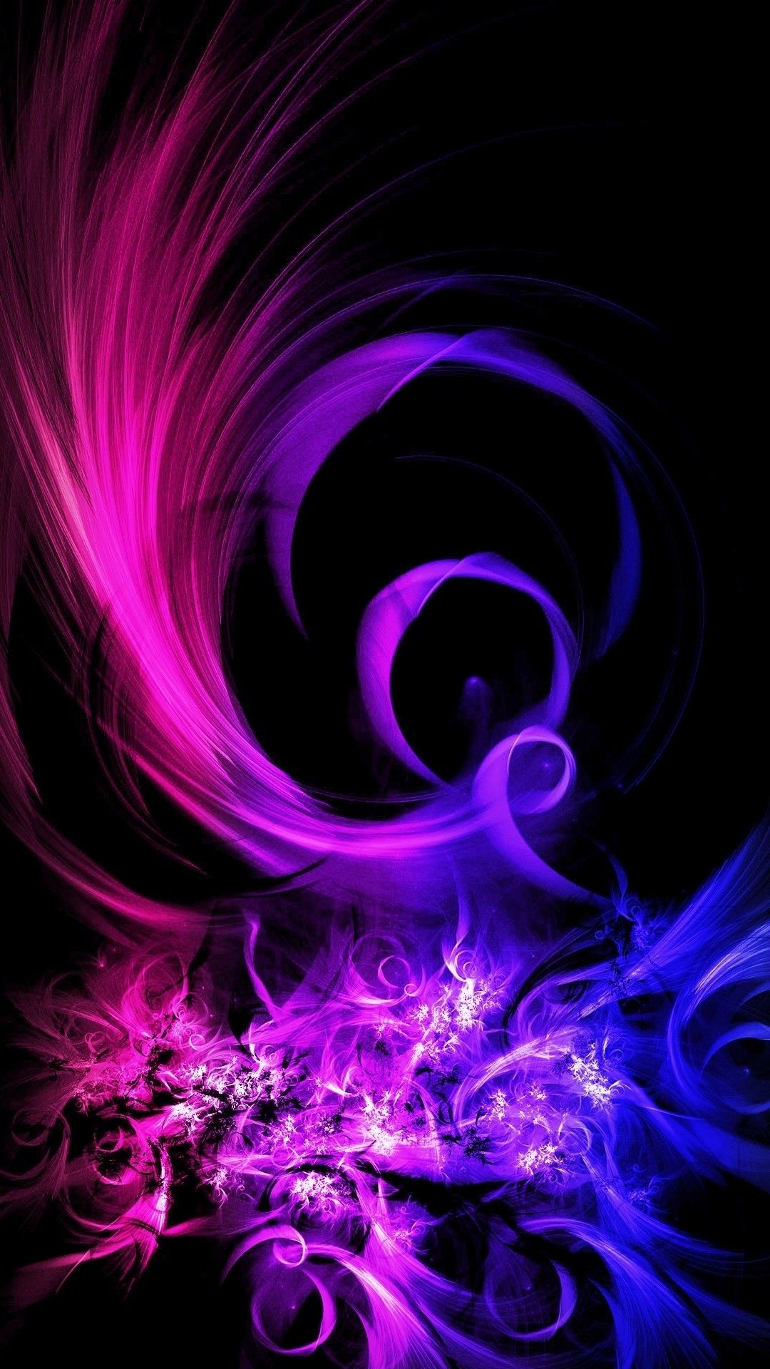 Purple Abstract iPhone Wallpapers - Top ...