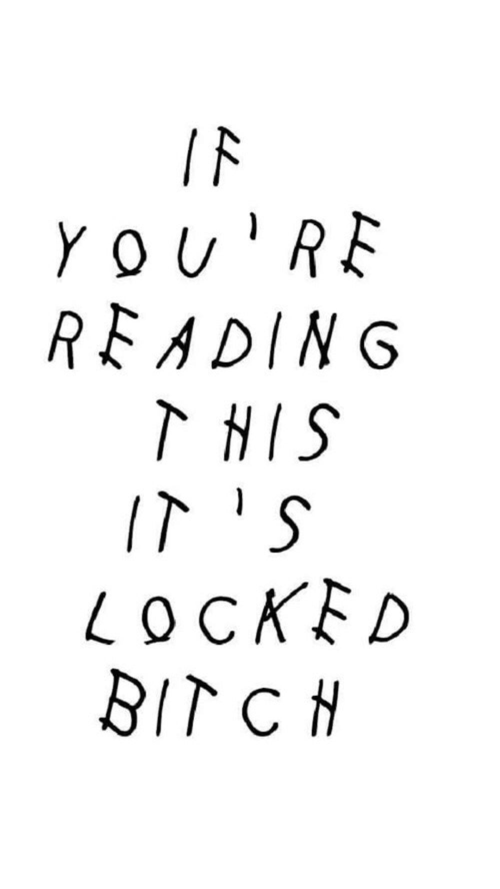 if youre reading this